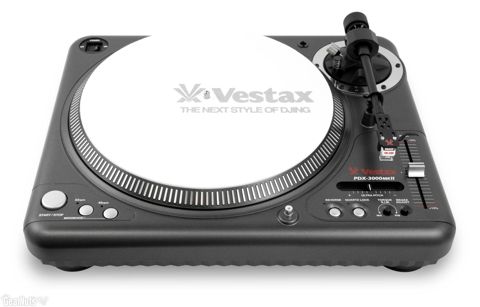 Vestax - PDX 3000 MKII