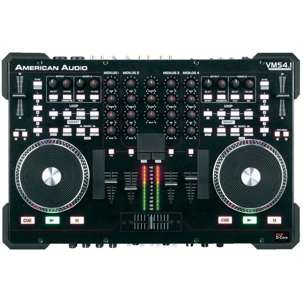 Controladores dj baratos American audio vms 4.1