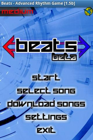 Beats, Advanced Rhythm Game